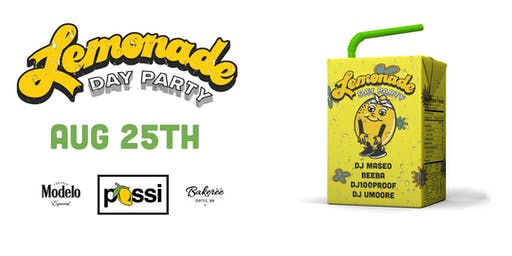 Possi Presents: Lemonade Day Party with Maseo of De La Soul | August 25th