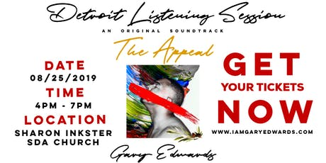 HOMECOMING:Gary Edwards Listening Session Detroit tickets