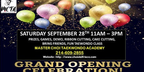 MCTA Grand Opening Celebration tickets