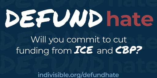 Defund Hate - Fight Trump's immoral agenda