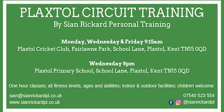 Plaxtol Circuit Training tickets
