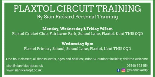 Plaxtol Circuit Training
