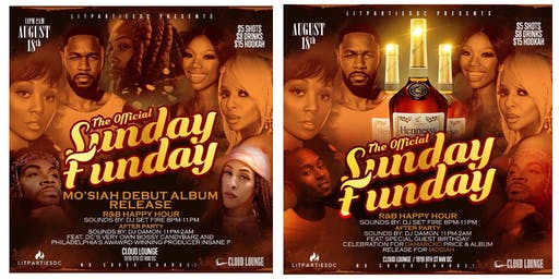 SUNDAY FUNDAY AUGUST 18TH