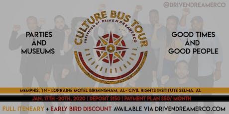 Driven Dreamers Culture Bus Tour tickets