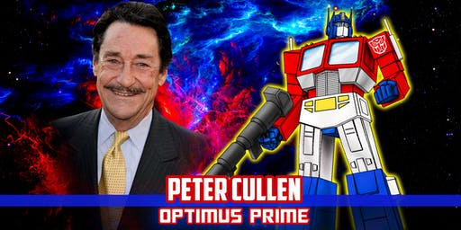 Peter Cullen Signing with Meet & Greet At Nerd Expo 2019