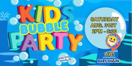 Kids Bubble Party tickets