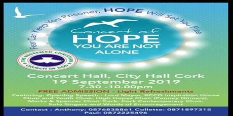 CONCERT OF HOPE- Free Entry tickets
