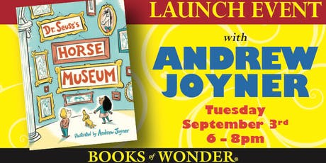 Launch Event for DR. SEUSS'S HORSE MUSEUM with Andrew Joyner! tickets