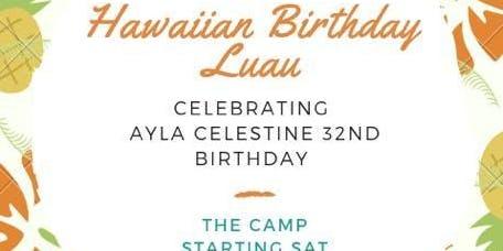 Ayla Celestine 32nd Birthday Nail Bar Party