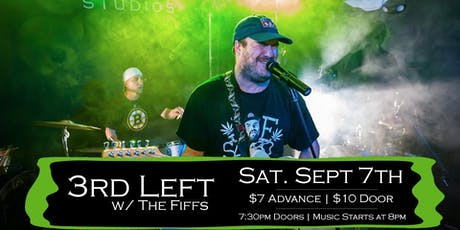 3rd Left w/s/g The Fiffs at Soundcheck Studios tickets