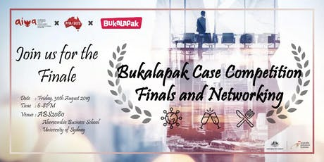 Bukalapak Case Competition Finals and Networking tickets