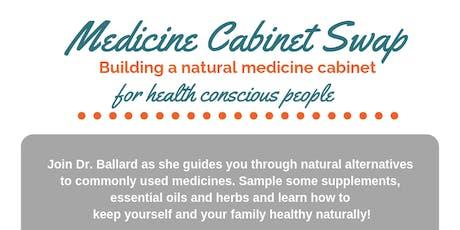 Medicine Cabinet Swap tickets