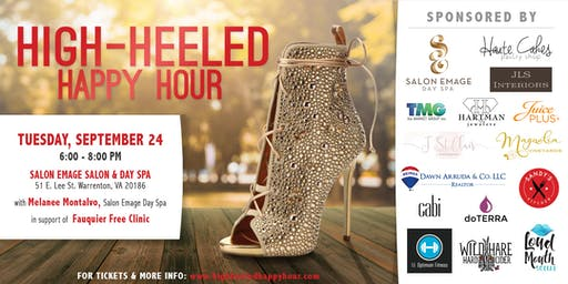 Warrenton High Heeled Happy Hour