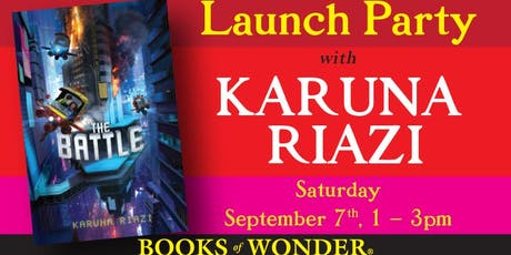 Launch Party for THE BATTLE with Karuna Riazi!! tickets