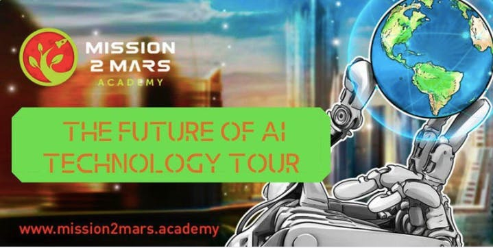Mission2Mars The Future of AI Tech Tour (Visit 5 Disruptive Silicon Valley Startups in 1 Day)