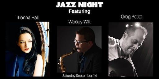 Jazz Night with Tianna Hall