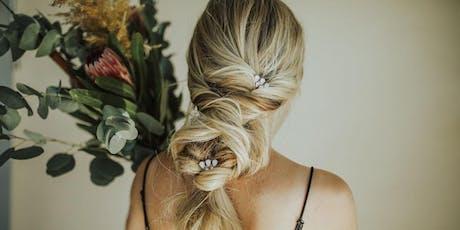 Bridal + Boho hair class with Ashley Petty tickets