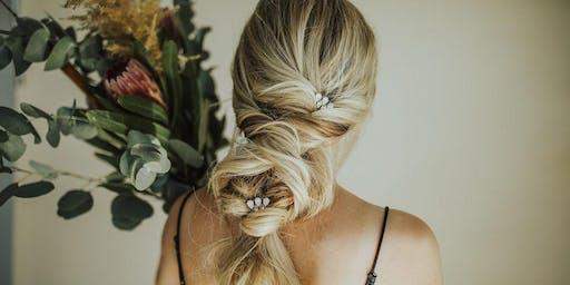 Bridal + Boho hair class with Ashley Petty