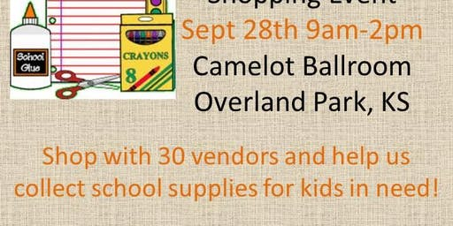 Back to School Bash and School Supply Drive!