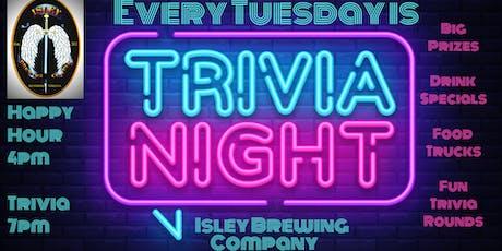 Trivia Tuesday at Isley Brewing Company tickets