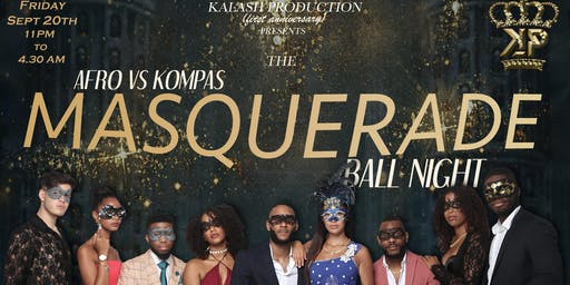 AFRO vs KOMPAS MASQUERADE BALL