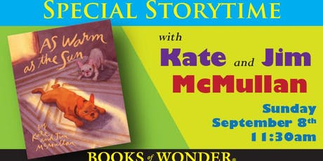 Special Storytime with Kate & Jim McMullan! tickets