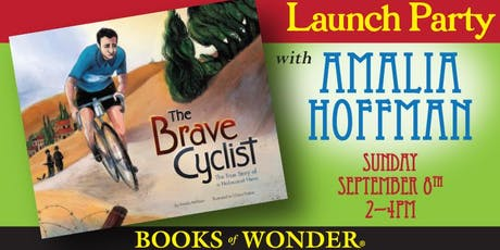 Launch Party for THE BRAVE CYCLIST with Amalia Hoffman! tickets