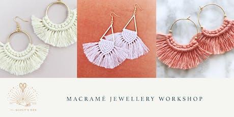Macramé Jewellery Workshop tickets