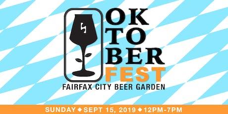 Oktoberfest - Fairfax City Beer Garden tickets