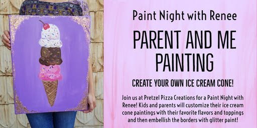 Paint Night With Renee: Parent And Me Painting