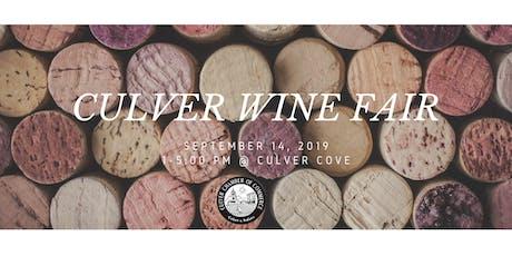 Culver Wine Fair tickets
