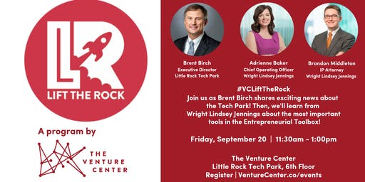 #VCLiftTheRock Presents: Wright Lindsey Jennings + Little Rock Tech Park