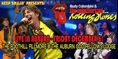 ROLLING STONEs FUN @ THE FOOTHILL FILLMORE @ the Auburn Odd Fellows Lodge