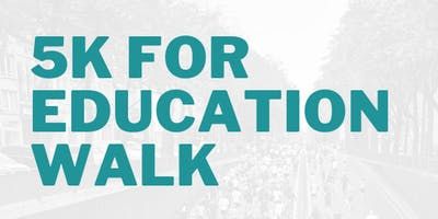 Third Annual 5K for Education Walk