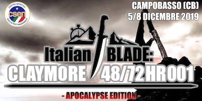 Italian BLADE: CLAYMORE 48/72HR 001