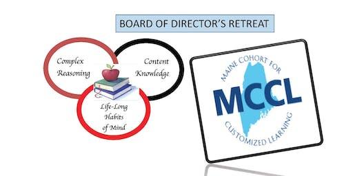 MCCL Board of Directors Retreat: September 6, 2019 8:30 - 2:00 Online & in Augusta