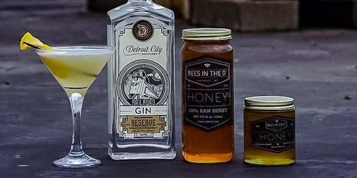 Detroit City Distillery & Bees in the D Honey Whiskey Launch Event + Honey Harvest