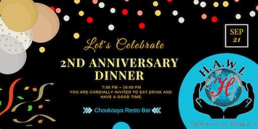 HAWI's Anniversary Celebration