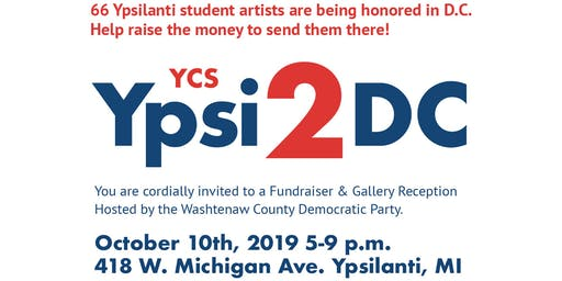 Ypsi2DC Student Art Opening Reception