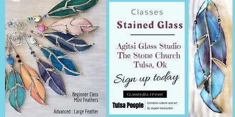 Stained Glass Mini Feather Class tickets