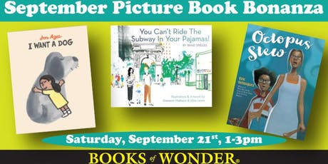 September PICTURE BOOK BONANZA! tickets