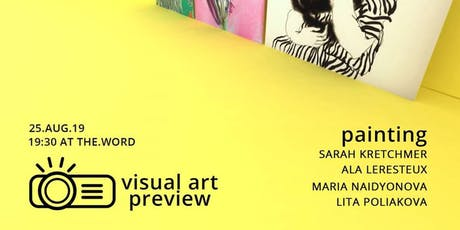 Visual Art Preview - Painting tickets
