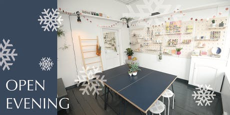 Host An Event At We Make - Open Evening for Autumn and Christmas bookings tickets