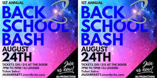 Back to School Teen Party and Scholarship Fundraiser