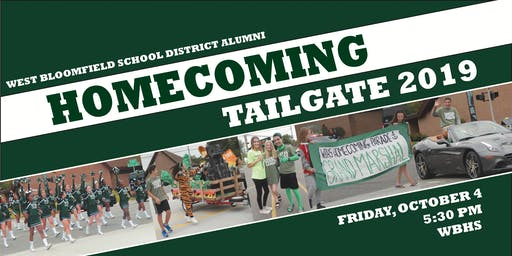 2019 West Bloomfield Alumni Homecoming Event
