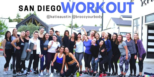 SAN DIEGO POP-UP WORKOUT w/ Katie Austin + Carissa Stanton