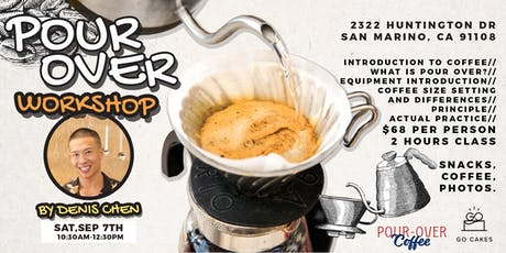 Pour Over workshop tickets