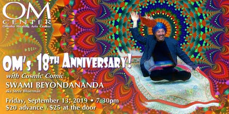 OM Center's 18th Anniversary with Swami Beyondananda tickets
