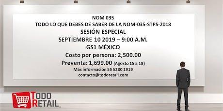 NOM 035 - STPS - 2018 TODO LO QUE NECESITAS SABER tickets