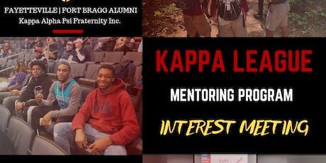Kappa League Interest Meeting tickets